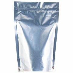 Пакет Дой-Пак 150*210(+40)мм, Мет./PET/БОПП (серебр)