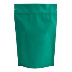Пакет Дой-Пак 105*150(+30)мм, Металл/PET/БОПП (темно-бирюзовый, матовый)