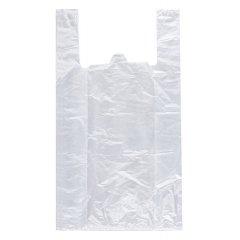 Пакет майка 36см(+16)*65см, 25мкм, ПНД, прозрачный