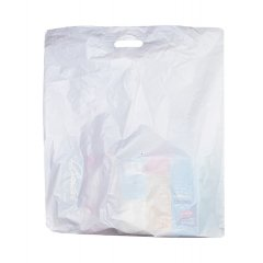 Пакет ВУР 60см*60см(+4)*50мкм, ПСД, белый