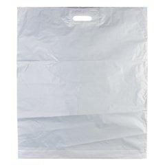 Пакет ВУР 60*70см(+4см), 70мкм, ПВД, белый