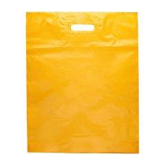 Пакет ВУР 40*50см(+3см), 60мкм, ПВД, желтый