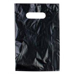 Пакет ВНУР 20см*30см(+0)*45мкм, ПВД, черный