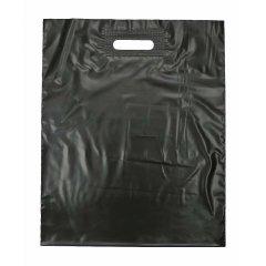 Пакет ВУР 50*60см(+3см), 80мкм, ПВД, черный