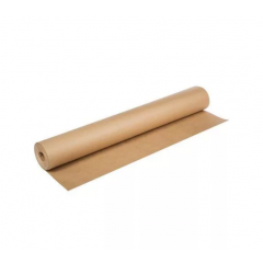 Крафт бумага в рулоне, ширина 106см, намоткам 100м, (78гр/м2)