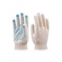 Перчатки вязанные х/б с ПВХ