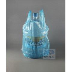 Пакет Майка 30см(+20)*69см*11мкм, синий,