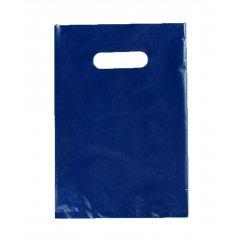 Пакет ВНУР 20см*30см(+0)*45мкм, ПВД, синий