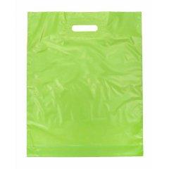 Пакет ВУР 30см*40см(+0)*50мкм, ПВД, салатовый