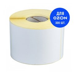 Термоэтикетка ЭКО 75х120мм (300 шт. в ролике) - для OZONa