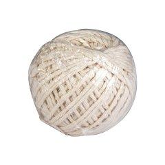Шпагат хлопчатобумажный белый, 1100 текс, 50м
