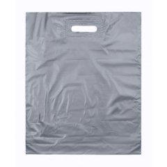 Пакет ВУР 40см*50см(+3)*50мкм, ПВД, серебряно-прозрачные