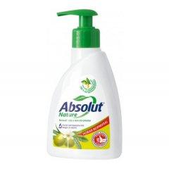 """Мыло-крем жидкое """"ABSOLUT"""" Nature с дозатором, Белый чай и масло оливы, 250г"""