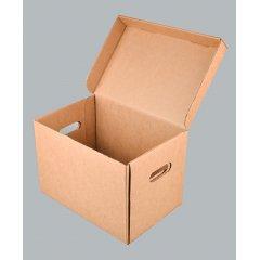 Картонная коробка 330х230х230, Т-23, бурый