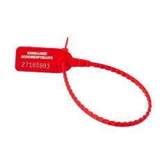 Пломба пластиковая номерная УП-255 (красная)