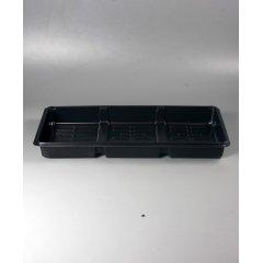 Поддон под кассеты 6 ячеек (3 вставки) 446*240*66мм (0,7мм), PS