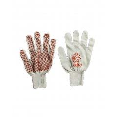 Перчатки вязанные х/б с ПВХ,