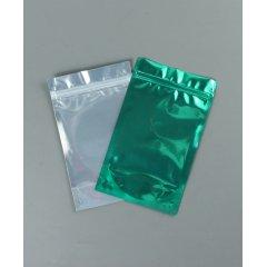 Пакет Дой-Пак 135*225(+40)мм, Металл/PET/БОПП (зеленый)