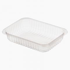 Контейнер пищевой 186х132х33мм, 500мл, прозрачный (прямоугольный)