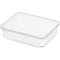 Контейнер пищевой 186х132х48мм, 750мл, прозрачный (прямоугольный)