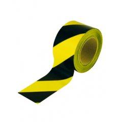 Лента для ограждения желто-черная 50мм*150м