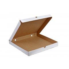 Коробка для пиццы 250х250х35, белый