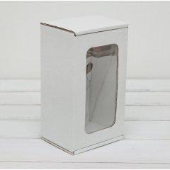 Коробка с окошком 170*100*80мм, белый