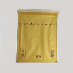Пакет с воздушной подушкой (240х275+50), коричневый W5, Е/15/12218
