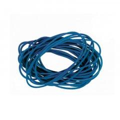 Колечки резиновые д/денег (40мм синие)
