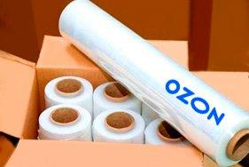 Белая стрейч пленка для OZON